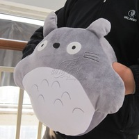 Totoro Japan cute stuffed pillow hand wormer