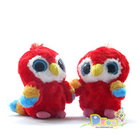 Hpp&Lgg Brand plush toy parrot,Aurora Plush doll Yoohoo animal toys for children,big eyes parrot gift toy hot sale freeshipping