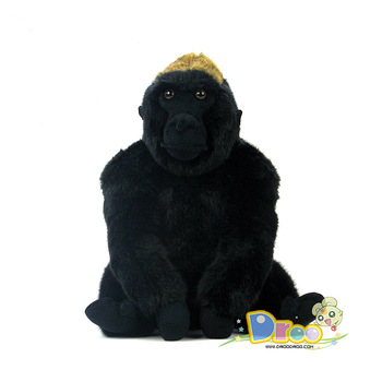 Uni-toys silver the jocko animal gorilla doll plush toy