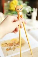 New Arrival Learn Chopsticks Silicone Chopsticks For Kids&Adult Bear Chopsticks Free Shipping