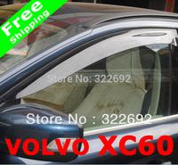 Car Window Visor 8cm WIDTH (4 pcs/lot) For VOLVO XC60 - EMS Free Shipping