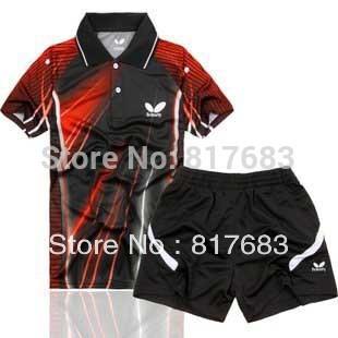 HOtsale3 New 2010 Men Table Tennis Polo Shirt/Shorts