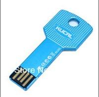 Eight color Waterproof 2GB 4GB 8GB 16GB Key USB flash disk usb storage memory drive gift usb Free shipping 10pcs/lot+box
