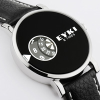Ikey quartz watch swivel plate vintage table personalized mens watch fashion watch fashion table