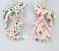 easter decoration-bunny hanger-fabric bunny hanger-5designs-20pcs/lot-by randomly-free shipment