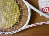 Factory price BLX2 PRO STAFF SIX-ONE 90 Tennis racket grip size :4 3/8 and 4 1/4 with bag made in china via china post air