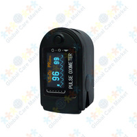 Fingertip Pulse Oximeter and Heart Rate Monitor - Black Style
