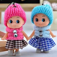 Cloth doll little girl toy doll birthday new year gift