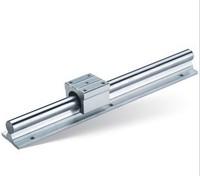 SBR20 Length 350 mm sbr linear bearing supported rails Rail