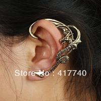 Fashion Vintage Alloy Gothic Dragon Ear Cuffs For Sales