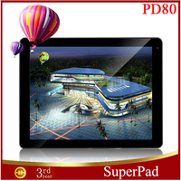 "Freelander PD80 Wise Tablet PC 9.7"" Android4.1 2048*1536 IPS Allwinner A31 Quad Core RAM 2G(64 bit) ROM 16G 5.0MP Dual Cameras"