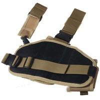 Best Quality Tactical Gun Pistol Holster Leg Gun Pouch with Quick Release Buckle out8434