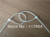 Free shipping (1000pcs/bag) 2.0mm*150mm Self-locking Nylon cable wire ties zip