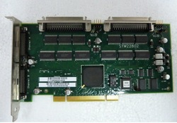 free shipping SYM22802 Dual Channel PCI SCSI Card 100% testing working prefect(China (Mainland))