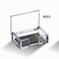 BAKEST transparent multi-purpose acrylic cigarette case / high-grade simple elegant  style ,box,holder #JB8313