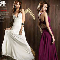 Free Shipping 2013 New Arrival Bense Women's Prom Gown Ball Evening Dress