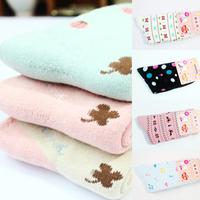 10Pairs/Lot  Winter Warm Socks For Women High Quality Towel Warm Fuzzy Socks  Little Elk Ladybug Thick Floor Thermal SocksF12857