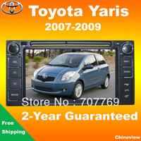 Multimedia car radio and car dvd player for Toyota Yaris 2007-2009 model