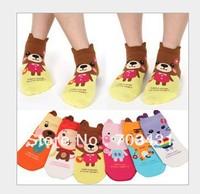 ID:236 Wholesale ladies short socks,women's joker casual cotton characte sock cute animal cartoon rabbit socks