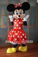 Minnie Mouse Mascot Costume Adult Cartoon Professional