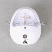 Whole Sales!! EMS Free Shipping!!  Night Lights Body Inductive Light for Home Security Energy-Saving
