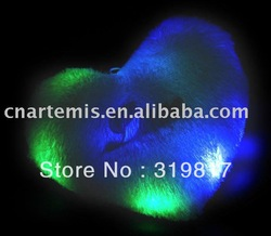 Heart RGB colorized Light LED light Pillow -Good Gift &OEM(China (Mainland))