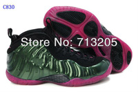 Free Shipping 2012 New Famous Trainers Air Foamposite Pro Woman's Sports Basketball Shoes High quality C830 Size 36-40 Mix order
