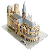 cubicFun 3D puzzle model NOTRE DAME DE PARIS educational diy toy free air mail