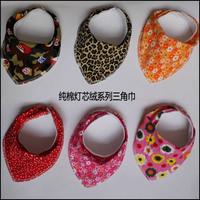 Corduroy 100% cotton thickening bib fashion bib scarf rice pocket