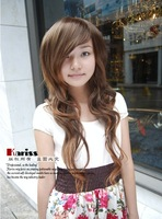Hot sale Fashion girls bulkness roll wig long kinkiness high temperature wire