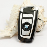 Metal remote control car key lighter personality inflatable windproof lighter
