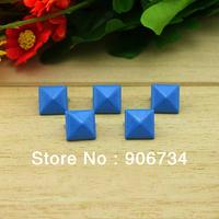 Blue Color Free Shipping DIY 100pcs Punk Fashion Design Decorative Nailheads Leathercraft Rivet