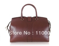 MOQ1-2012 fashion leather  ladies' handbags brand design