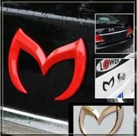 Auto Car 1 pcs/lot new Bat Batman Metal Rear Auto Car Emblem Badge logo Sticker Decal for Mazda 3 5 6 CX-7 CX-9 MX-5 car styling