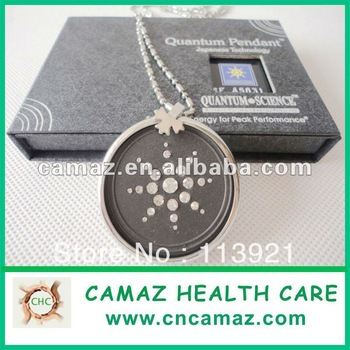 2013 new Scalar quantum pendant with stainless steel ring