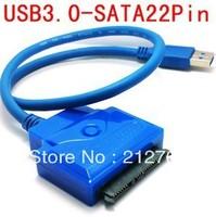 """USB3 0 to SATA 22Pin 2 5"""" 3 5"""" HDD 7 15 Hard Disk Driver Adapter"""