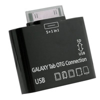 OEM USB OTG Connection Kit  Card Reader for SAMSUNG GALAXY TAB 10.1 P7500 P7510 BLACK