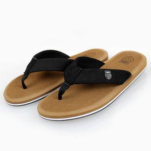 Free Shipping Men's Summer Beach Celebrity Brand Designer Beckham EVA Outsole Nubuck Leather flip flops slippers shoes 3024