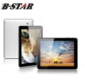 """Free shipping B-STAR T973 9.7"""" android tablet PC capacitive multi touch A10 1.2GHz HDMI Dual cameras WIFI 1GB RAM 16GB ROM"""
