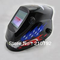 Manufacture selling eagle paint Li battery+ solar auto darkening welding  mask/welding helmet/welder glasses for the welder use