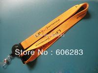customized badge lanyard Badge Retractable Reel Lanyard with logo printing