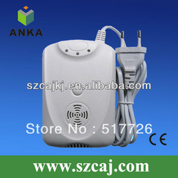 wired co gas alarm detector with shut off valve(China (Mainland))