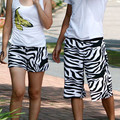 beach shorts for Lovers  zebra print  beach pants beach pants lovers shorts