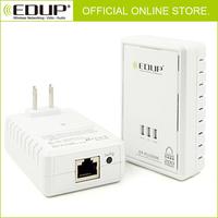 BRAND NEW Powerline HD Network Adapter Starter Kit Plug Ethernet Lan Homeplug X2 EDUP GIGABIT FREE SHIPPING