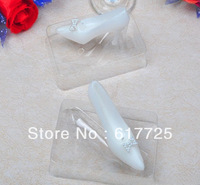 Free Shipping ,High Quality ,Reasonable Price , Wholesale 10Pcs/Lot High-heeled ShoesSmokeless Scented Wedding  Candles
