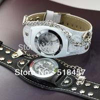 3 цвета моды часов часы большие круглые Мужские кварцевые наручные часы