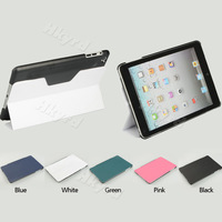 1PCS Slim Magnetic Dormancy PU Leather Folding Stand Cover Case for iPad Mini CM328