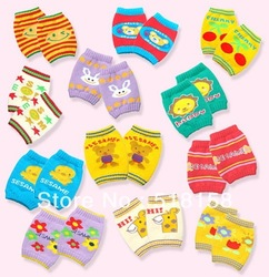 Free shipping kid leg warmers Cartoon Kness socks Mini Baby wear Infant wear(China (Mainland))