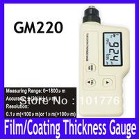 EMS/DHL Free shipping Film / Coating Thickness gauge GM220,MOQ=1