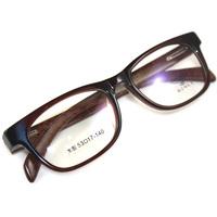 Lowest price Free shipping B6096 BENTLEY binli full frame wood vintage scrub black glasses frame myopia eyeglasses frame